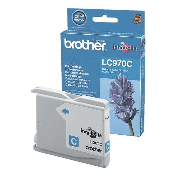 Brother LC-970C Tinte Cyan