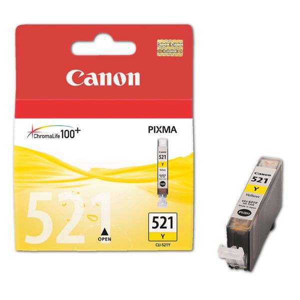 Canon CLI521Y yellow