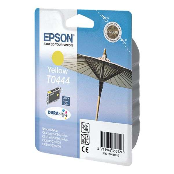 Epson T0444 Tinte Yellow