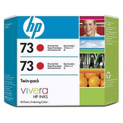 Tintenpatronenset Twinpack HP 73 CD952A Chromatic rot 2x