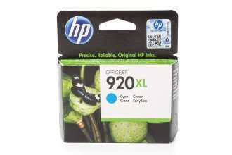 HP 920XL Tinte Cyan