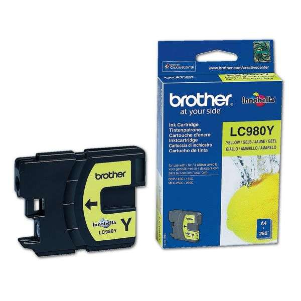 Brother LC-980Y Tinte Yellow