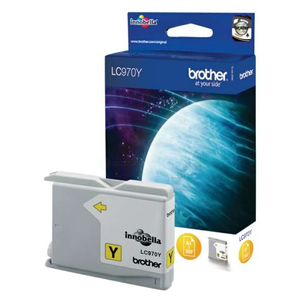 Brother LC-970Y Tinte Yellow