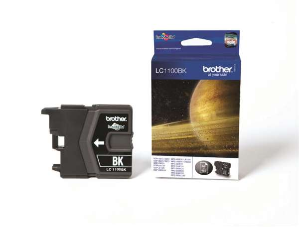 Brother LC-1100BK Tinte Schwarz